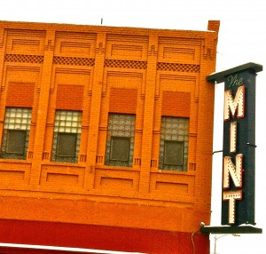 The building housing the Mint Bar has been a mainstay of downtown Livingston, Mont. for the past century. (Michele Prevost/Yellowstone Gate - click to enlarge)