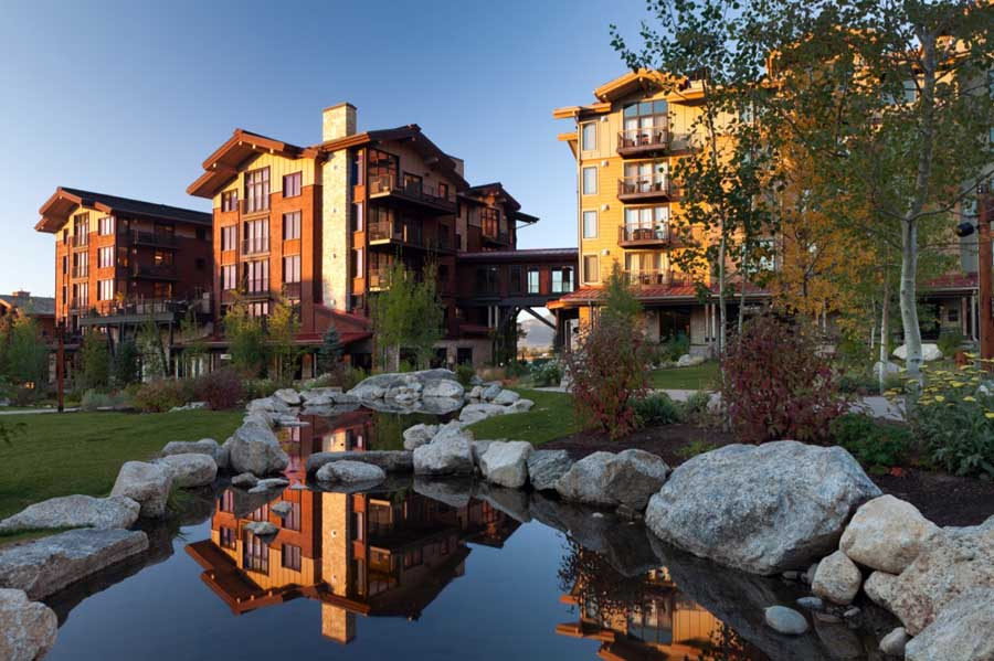 Hotel Terra in Teton Village, Wyo. received a silver LEED certification level from the U.S. Green Building Council. (courtesy photo - click to enlarge)
