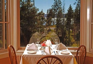 Yellowstone Park concessioner Xanterra Parks and Resorts sometimes serves special menu items to Lake Hotel dining guests using local, sustainably farmed products. (courtesy photo - click to enlarge)