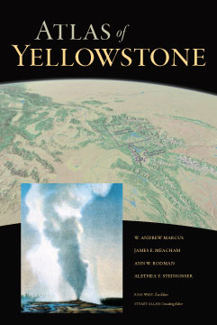 Atlas of Yellowstone book cover