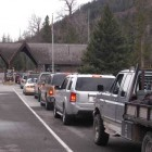 Yellowstone East Gate