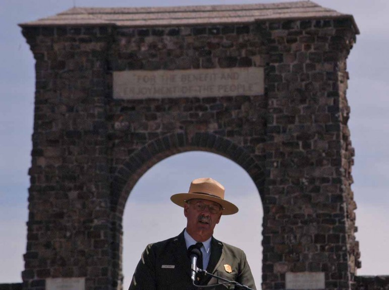 Yellowstone National Park Superintendent Dan Wenk has accepted a temporary position as interim president of the National Park Foundation in Washington, D.C.