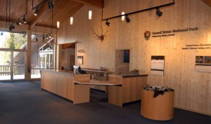 The Colter Bay Visitor Center in Grand Teton National Park was renovated last winter.(Yellowstone Gate/Ruffin Prevost - click to enlarge)
