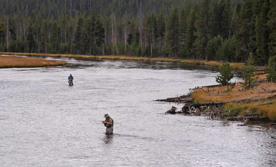 Yellowstone officials close some waterways to fishing due for Yellowstone park fishing report