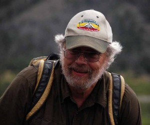 Archaeologist Larry Todd has been studying ancient human habitation sites around the Shoshone National Forest. (Ruffin Prevost/Yellowstone Gate - click to enlarge)