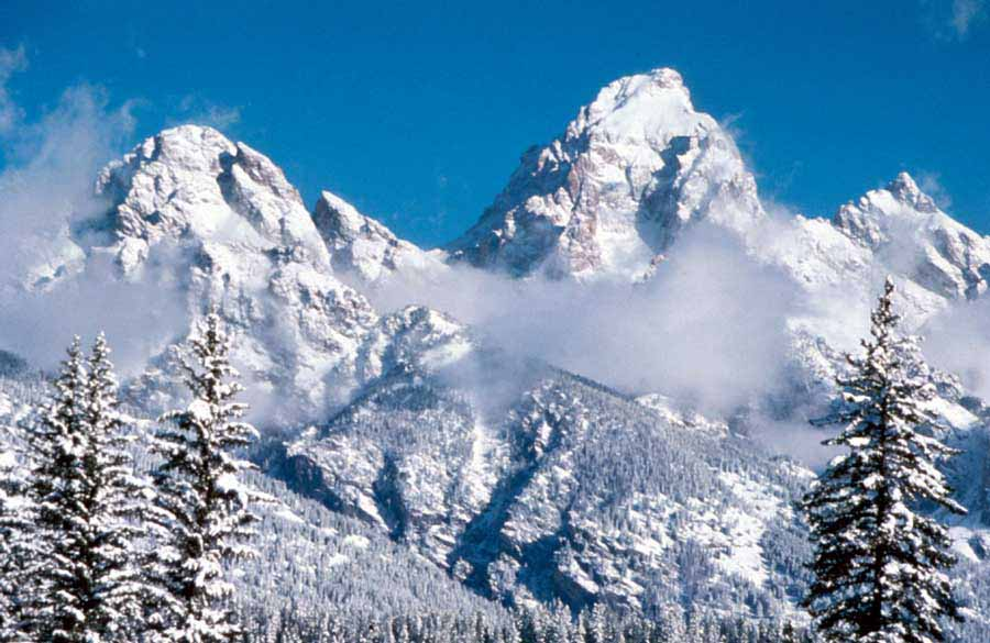 A backcountry skier died in an avalanche Friday in Grand Teton National Park, the second avalanche death this season. (NPS photo)