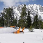 Road plowing along Teton Park Road in Grand Teton National Park is set to begin April 1. (NPS photo - click to enlarge)