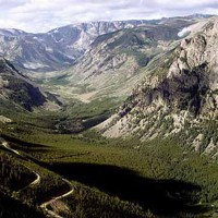 The Beartooth Highway is a favorite scenic byway among thousands of visitors to the greater Yellowstone area. (photo courtesy of Montana Travel and Tourism)