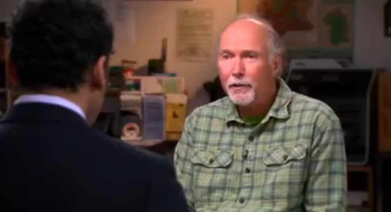 Jeff Hoyt of the Greater Yellowstone Coalition appears in a June 2012 segment of The Daily Show.