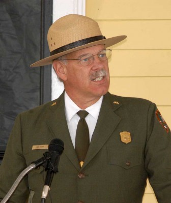 Yellowstone National Park Superintendent Dan Wenk said Tuesday that Lake Hotel was his favorite spot to dine and stay in the park.