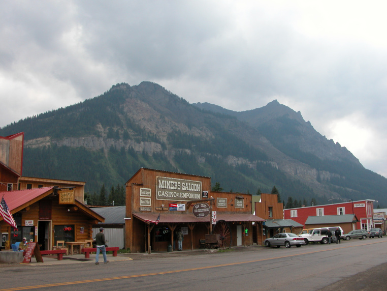 The Miner's Saloon is a popular watering hole in Cooke City, Mont., at the northeast border of Yellowstone National Park.