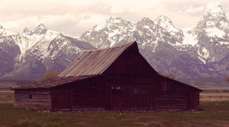 Volunteers have been instrumental in preserving the T.A. Moulton barn and other historic buildings in Grand Teton National Park.
