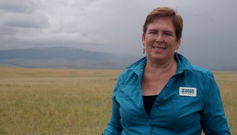 Tonie Rocke of the U.S. Geological Survey National Wildlife Health Center is working to develop a plague vaccine for prairie dogs.