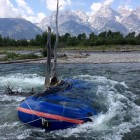 Portions of the Snake River in Grand Teton National Park can be difficult for beginning boaters to navigate.