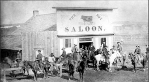 The Cowboy Bar was built in 1893, and has been visited by many notorious outlaws. (photo courtesy of Jim Blake)