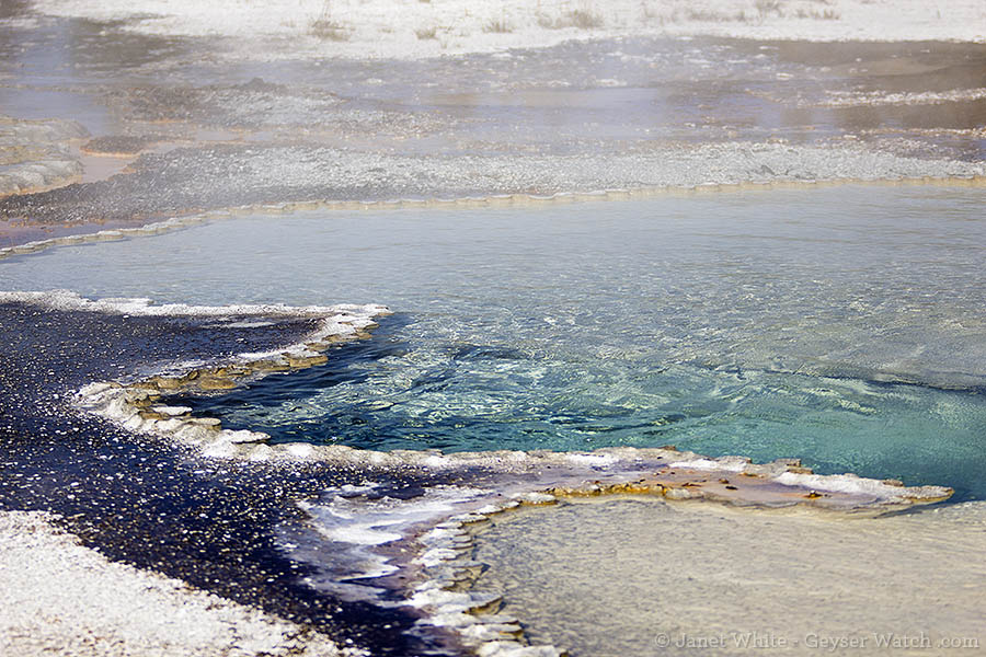 Doublet Pool in Yellowstone National Park