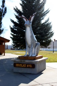 """Douglas, Wyo. is known as """"home of the jackalope."""" (photo courtesy Converse County Tourism - click to enlarge)"""