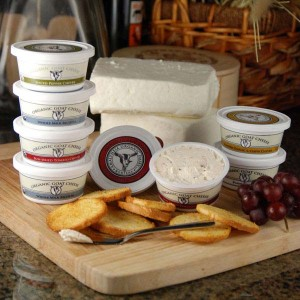 Montana's Amaltheia Dairy supplies goat cheese to restaurants and stores in Yellowstone Park, which helps in marketing its products nationwide. (courtesy photo - click to enlarge)