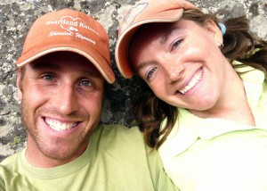 Skier Josh Tatman, seen here with wife, was injured Saturday while skiing in Grand Teton National Park's Granite Canyon. (courtesy photo - click to enlarge)