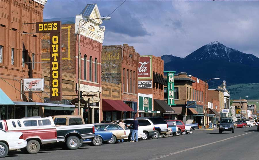 Livingston, Mont. and other gateway towns around Yellowstone National Park rely heavily on tourism to drive their local economies. (Montana Office of Tourism - click to enlarge)