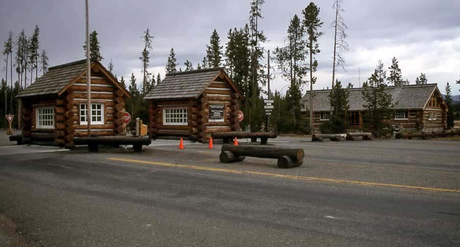 The south entrance to Yellowstone Park has opened for the 2012 summer season. (Jim Peaco/NPS file photo - click to enlarge)