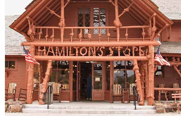 Hamilton's Lower Store at Old Faithful