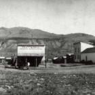 downtown Gardiner Montana in 1890