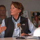 "Grand Teton National Park Superintendent Mary Gibson Scott said the government shutdown is ""devastating to morale."""
