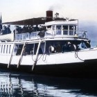 The ZIllah was a boat used by the Wylie tour company to take early Yellowstone Park visitors on scenic cruises on Yellowstone Lake. (NPS photo - click to enlarge)