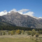 The Moose-Wilson Road connecting Grand Teton National Park and Wilson, Wyo., will soon close for the season. (File photo by Acroterion/Wikimedia Commons - click to enlarge)
