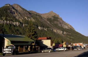 Summers are typically busier in Cooke City, Mont., than winter, when snowmobile riders are the main source of tourist traffic.  (Montana Tourism photo - click to enlarge)