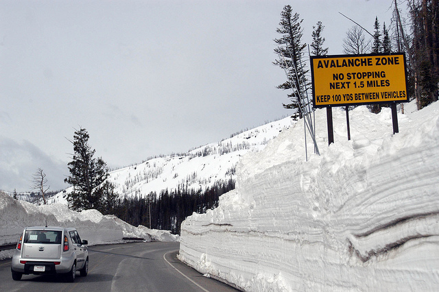 The usual spring opening for Yellowstone National Park has been delayed to help slow the spread of the COVID-19 virus. (Ruffin Prevost/Yellowstone Gate)