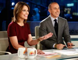 """NBC's """"Today"""" show, hosted by Savannah Guthrie and Matt Lauer, generates a reported $500 million annually for the network. (NBC photo by Peter Kramer)"""