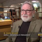 A screen capture shows Montana author M. Mark Miller speaking during a September interview in Bozeman that aired this month on the C-SPAN cable network.