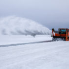 Grand Teton National Park will begin spring plowing operations March 22. (NPS Photo/A White)